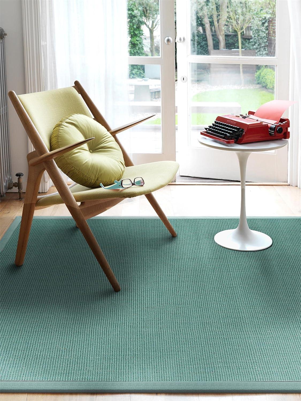 Benuta Benuta Benuta Sisal Teppich mit Bordüre Rot 120x180 cm   Naturfaserteppich für Flur und Wohnzimmer B06XDBBSYS Teppiche ae3409