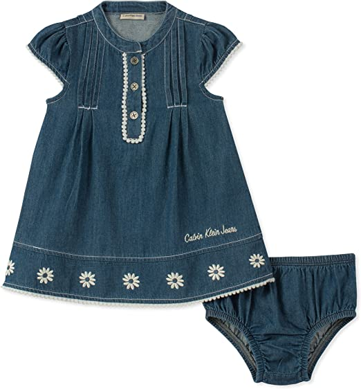 Conjunto De Ropa Para Bebes Niños Niñas Bragas De Jean Pantalones Vestidos BELLO