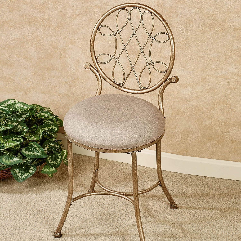 Hillsdale Furniture Bedelia Vanity Chair Gold/Bronze