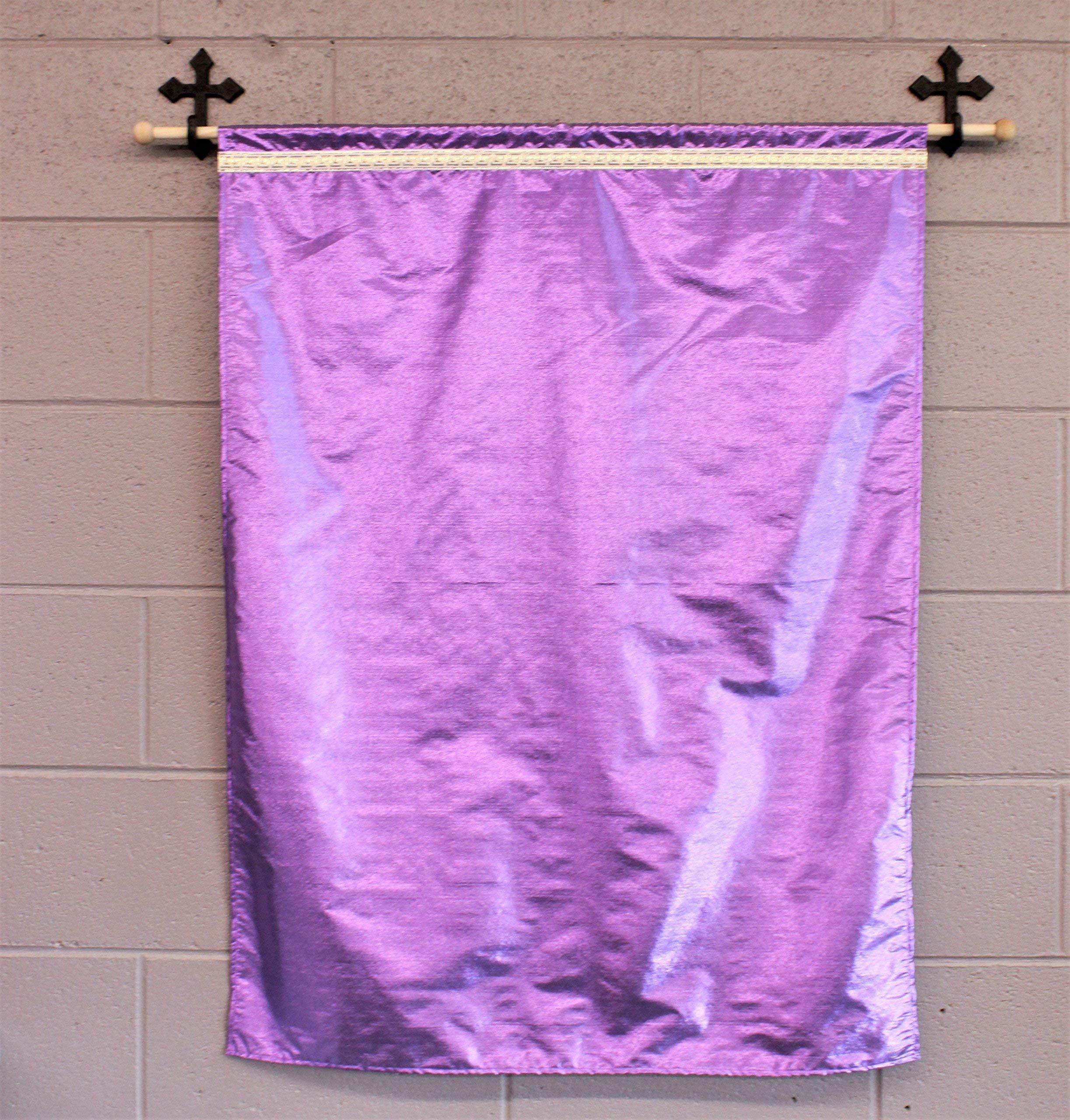Purple Praise, Worship and Dance Flag