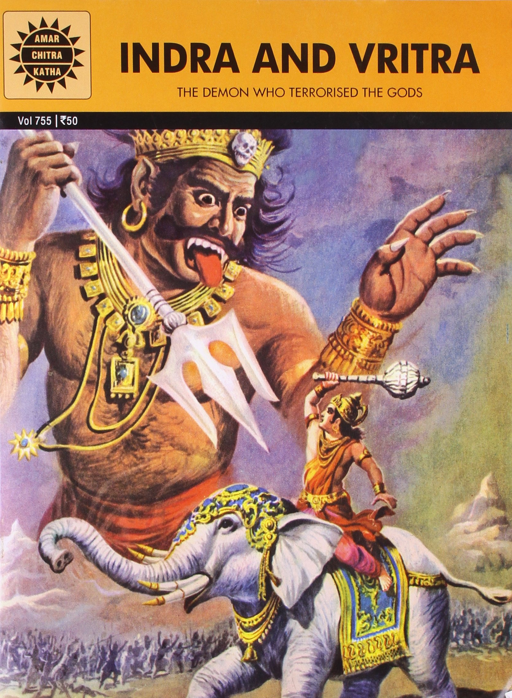 buy indra and vritra amar chitra katha book online at low prices