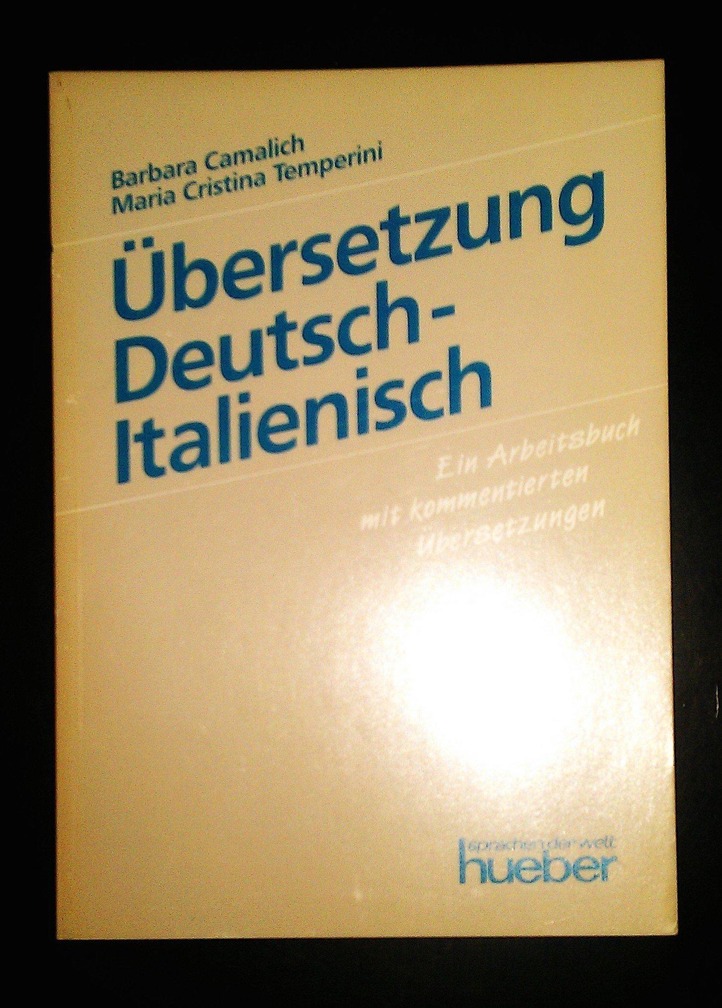 Übersetzung Deutsch-Italienisch