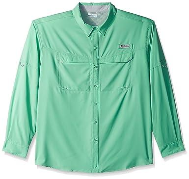 4d518e3658f Amazon.com : Columbia Men's Low Drag Offshore Long Sleeve Shirt : Clothing