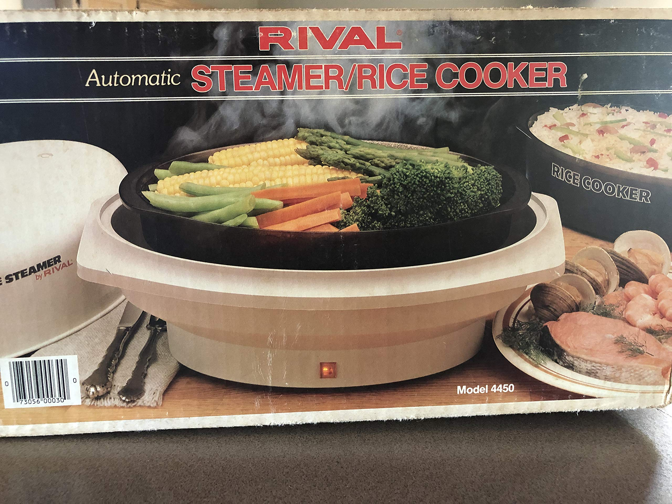 Rival Automatic Steamer/rice Cooker