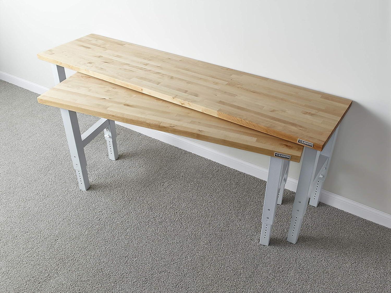 Fine Gladiator Garageworks Gawb06Hwgw Hardwood Workbench 6 Ft Uwap Interior Chair Design Uwaporg