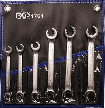 10 x 11 mm BGS 1750 Llave de estrella doble abierta