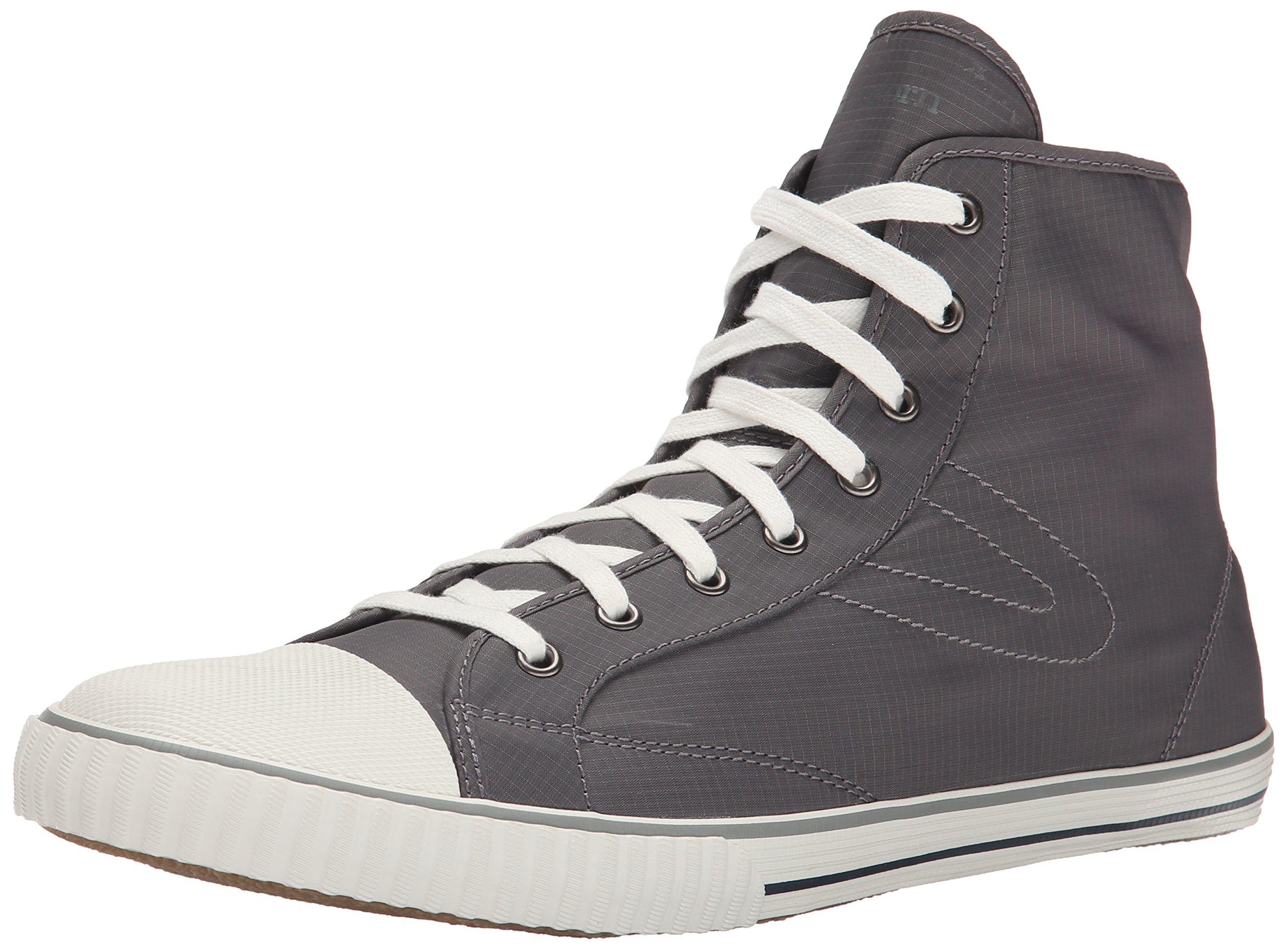 Tretorn Men's Hockey Boot Rip-Stop Fashion Sneaker, Charcoal Grey, 12 D US