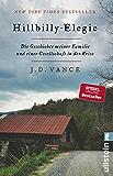 Hillbilly-Elegie: Die Geschichte meiner Familie und einer Gesellschaft in der Krise (German Edition)