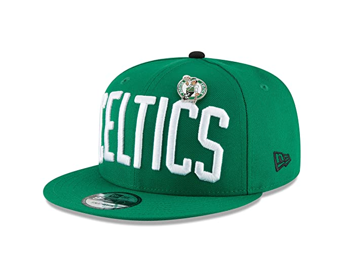 wholesale dealer 5ce88 01579 Image Unavailable. Image not available for. Color  New Era Boston Celtics  PIN Snapback 9Fifty Snapback NBA Adjustable Hat