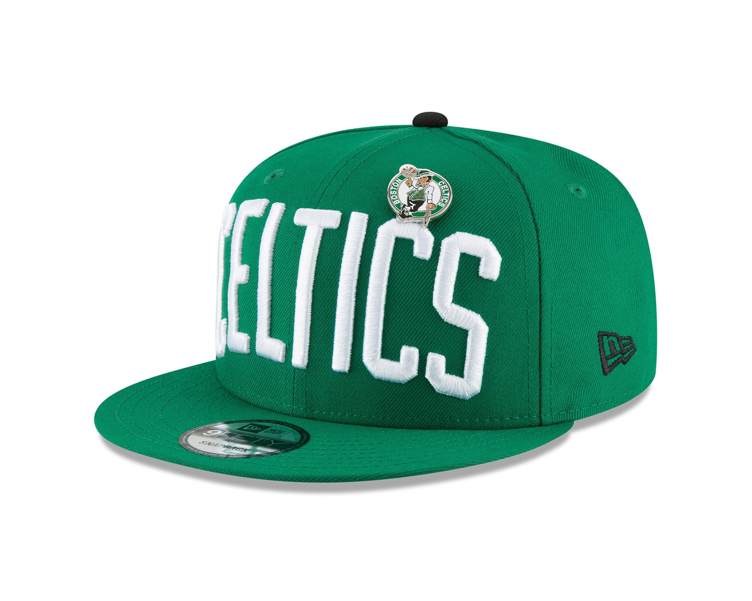 New Era Boston Celtics PIN Snapback 9Fifty Snapback NBA Adjustable Hat