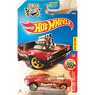 Hot Wheels 2020 HW Holiday Racers Rodger Dodger 73/365, Maroon: Toys & Games