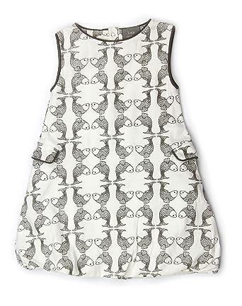d22c41963 Amazon.com: Kate Quinn Organics Baby Girls' Sleeveless Bubble Dress ...