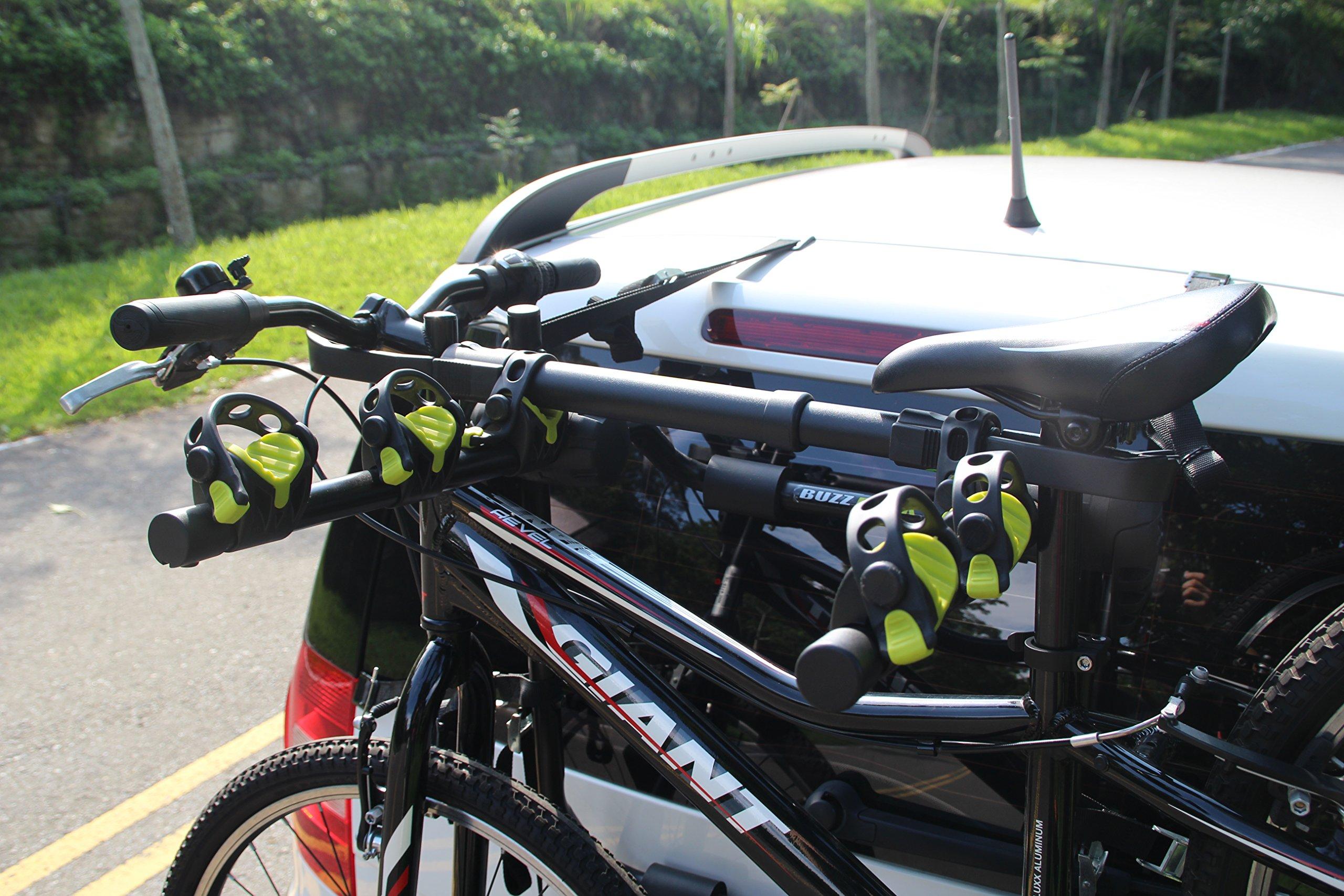 BUZZ RACK GRIP Deluxe Black Bike Top Frame Cross Bar Telescopic Adaptor by BUZZ RACK (Image #5)