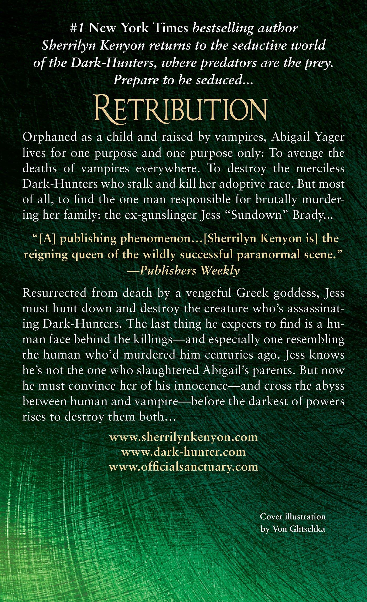 Amazon: Retribution (darkhunter Novels) (9780312546601): Sherrilyn  Kenyon: Books