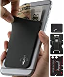 Phone Wallet - Adhesive Card Holder - Cell Phone Pouch - Stick on Lycra Pocket by Gecko - Carry Credit Cards and Cash - Lawyer