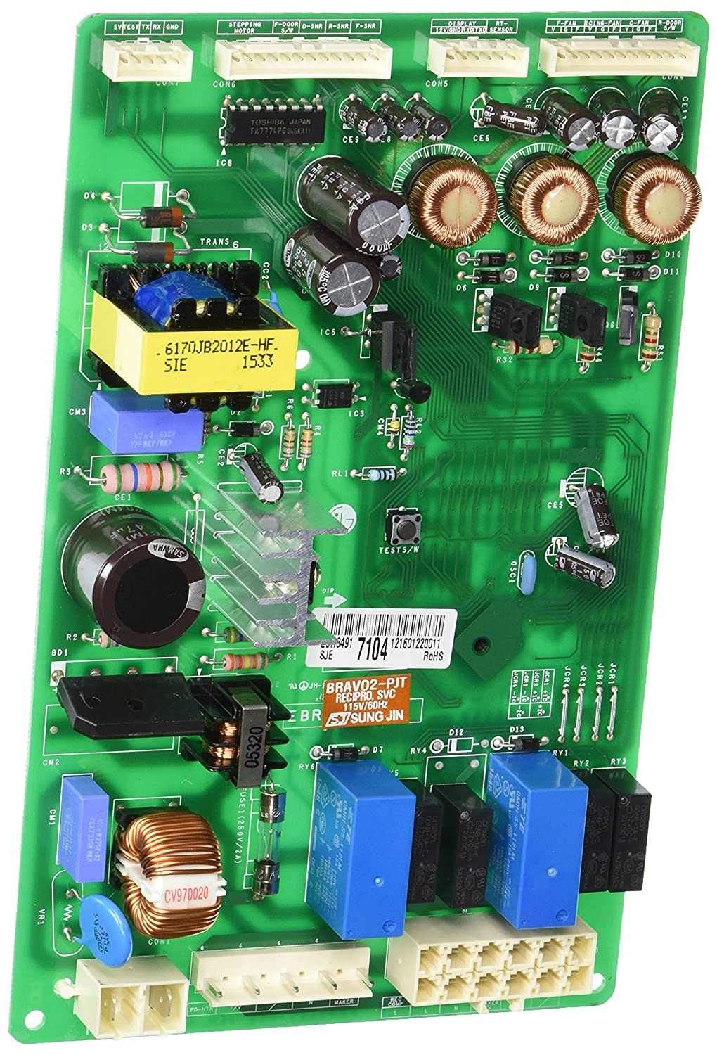 Lg Electronics Ebr34917104 Refrigerator Main Pcb A Home Printed Circuit Board Assembly Pcba China Electronic And Digital Improvement