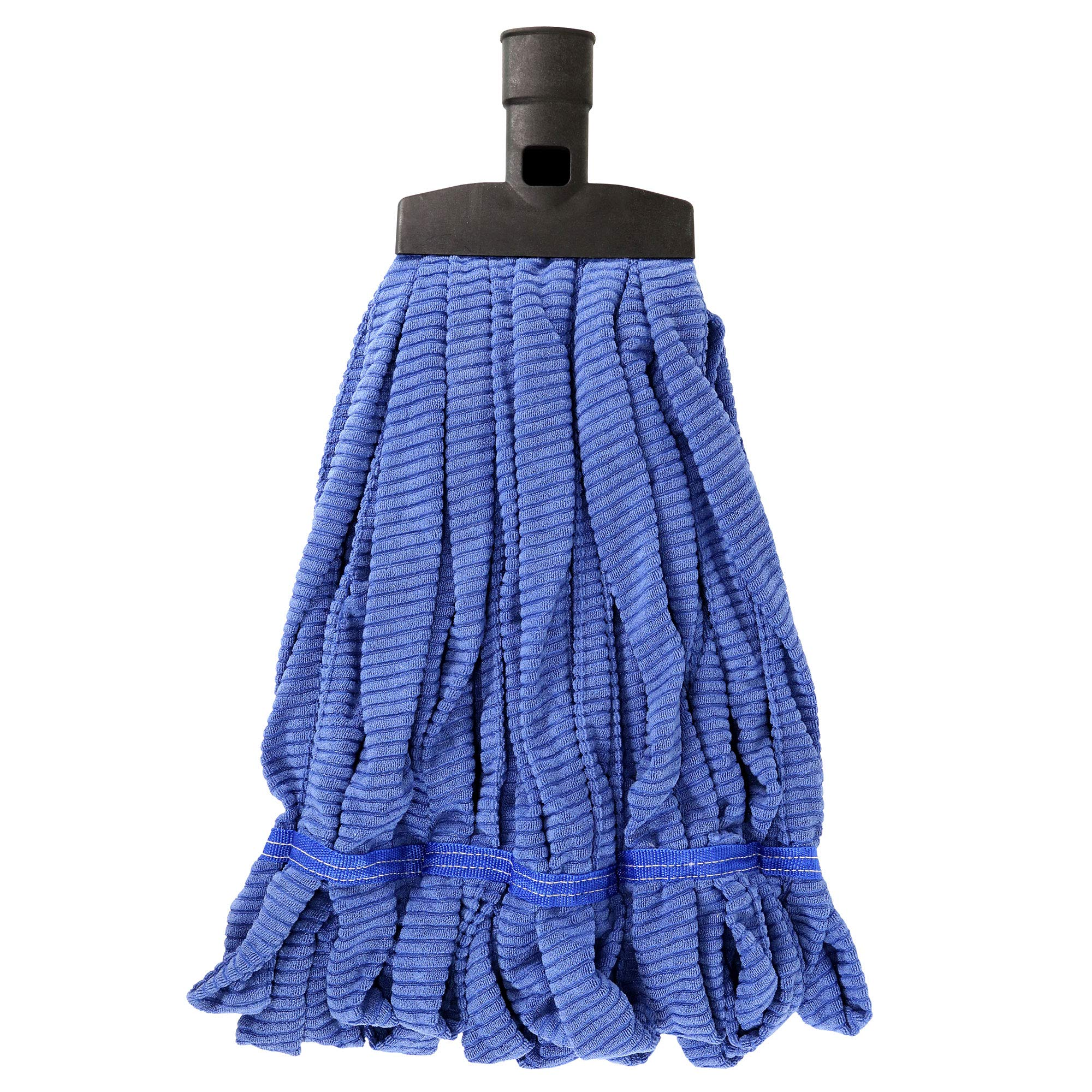 SWOPT Microfiber Mop Head - Microfiber Mop Head for Use on Wood, Laminate and Tile Floors, Lint Free Cleaning - Interchangeable with Other SWOPT Products for More Efficient Cleaning and Storage, Head Only, Handle Sold Separately, 5111C6