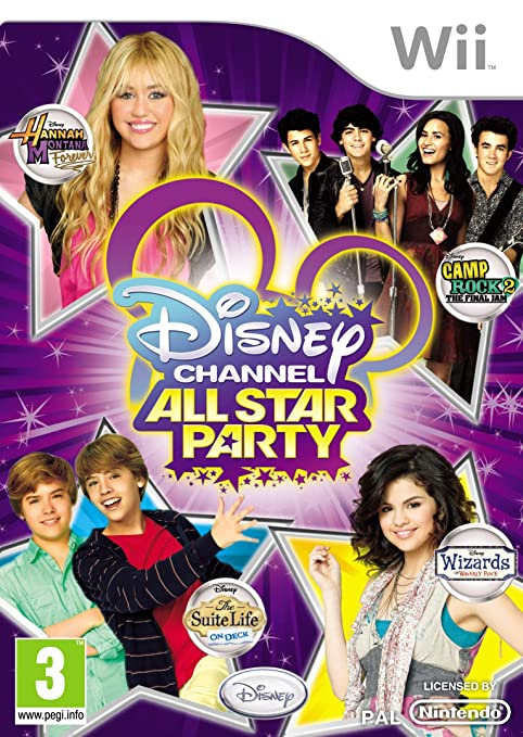 Amazon.com: Disney Channel All Star Party (Wii): Video Games