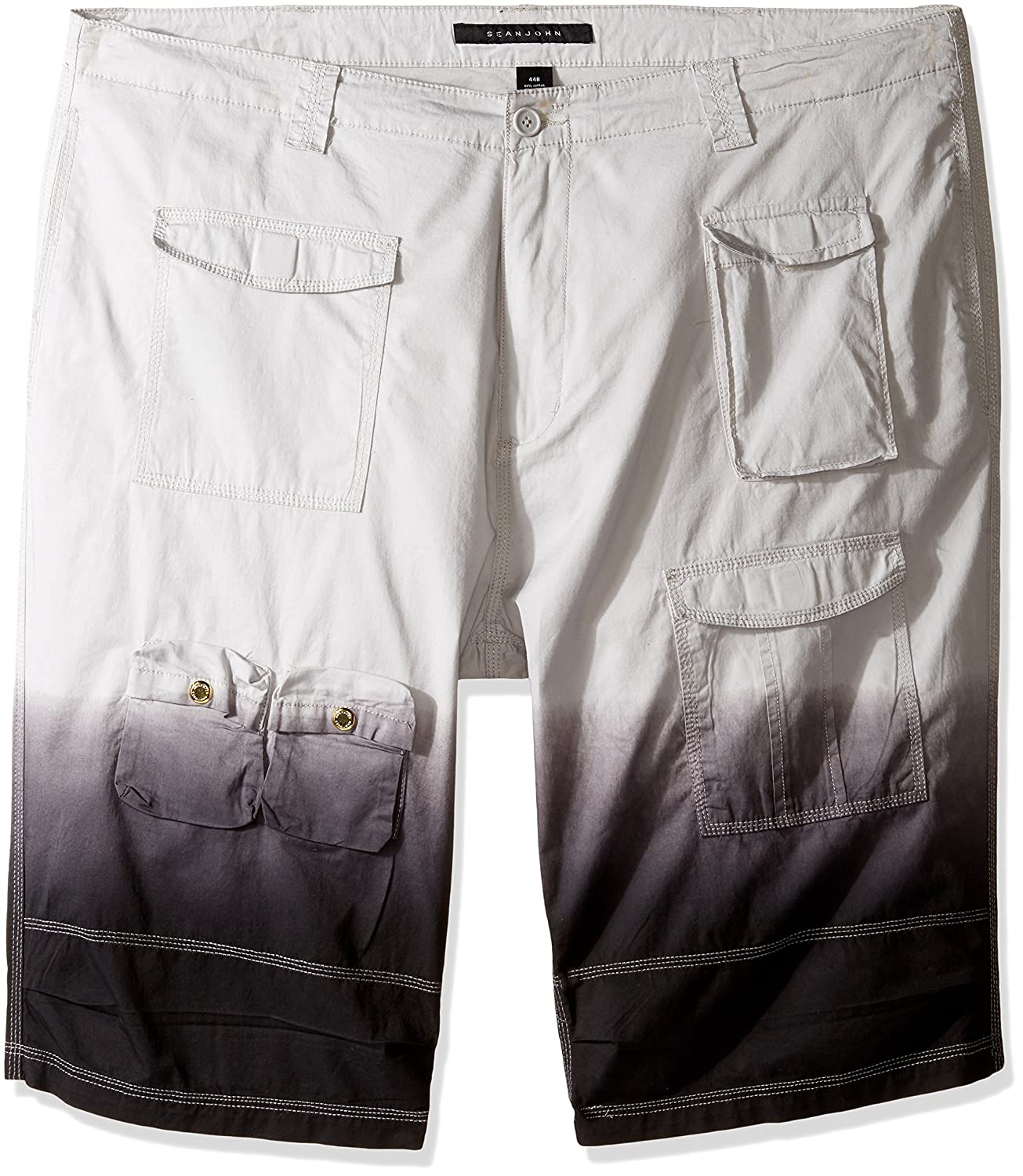 Sean John Men's Big and Tall Flight Short Dip Dye SW170253BT