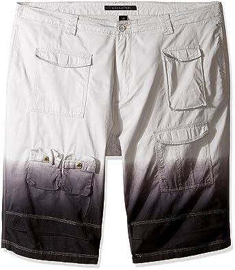 83f23f6815a Amazon.com  Sean John Men s Big and Tall Flight Short Dip Dye  Clothing