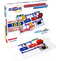 Snap Circuits Jr. SC-100 Electronics Exploration Kit, Kids Building Projects Kits, Stem Engineering Toys