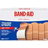 Band-Aid Brand Tough-Strips Adhesive Bandages, 60 Count