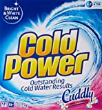 Cold Power 2 In 1 With Fabric Softener Laundry Powder, 1800g