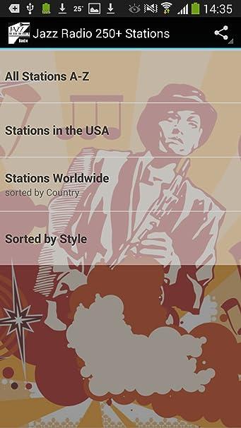 Jazz Radio Worldwide 250+ Stations