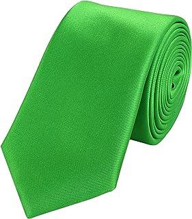 Fabio Farini Edle Krawatte, 6 cm in verschiedenen Farben Hochzeit Business Anzugskrawatten