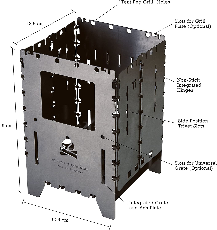 Hornillo Bushbox XL Titanio