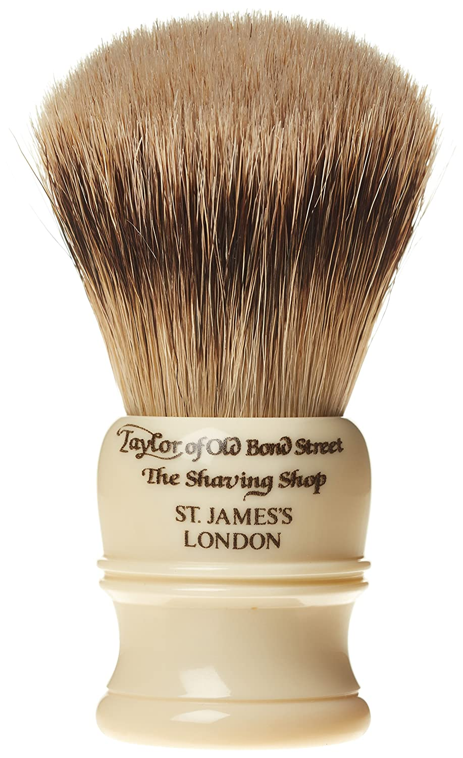 Taylor of Old Bond Street Super Badger Small Imit Ivory Shaving Brush SH 1