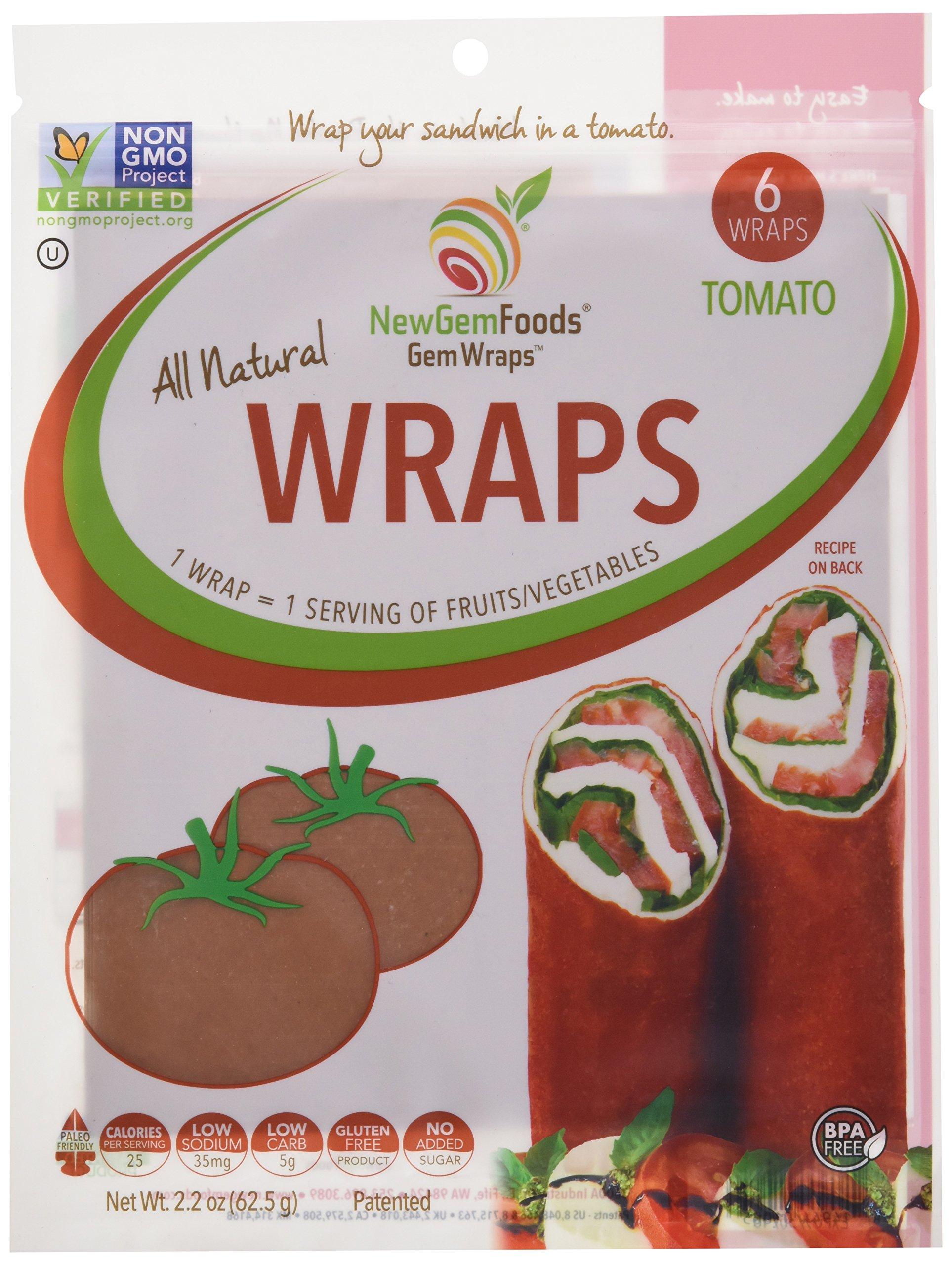 GemWraps® Tomato Sandwich Wraps 6-sheets