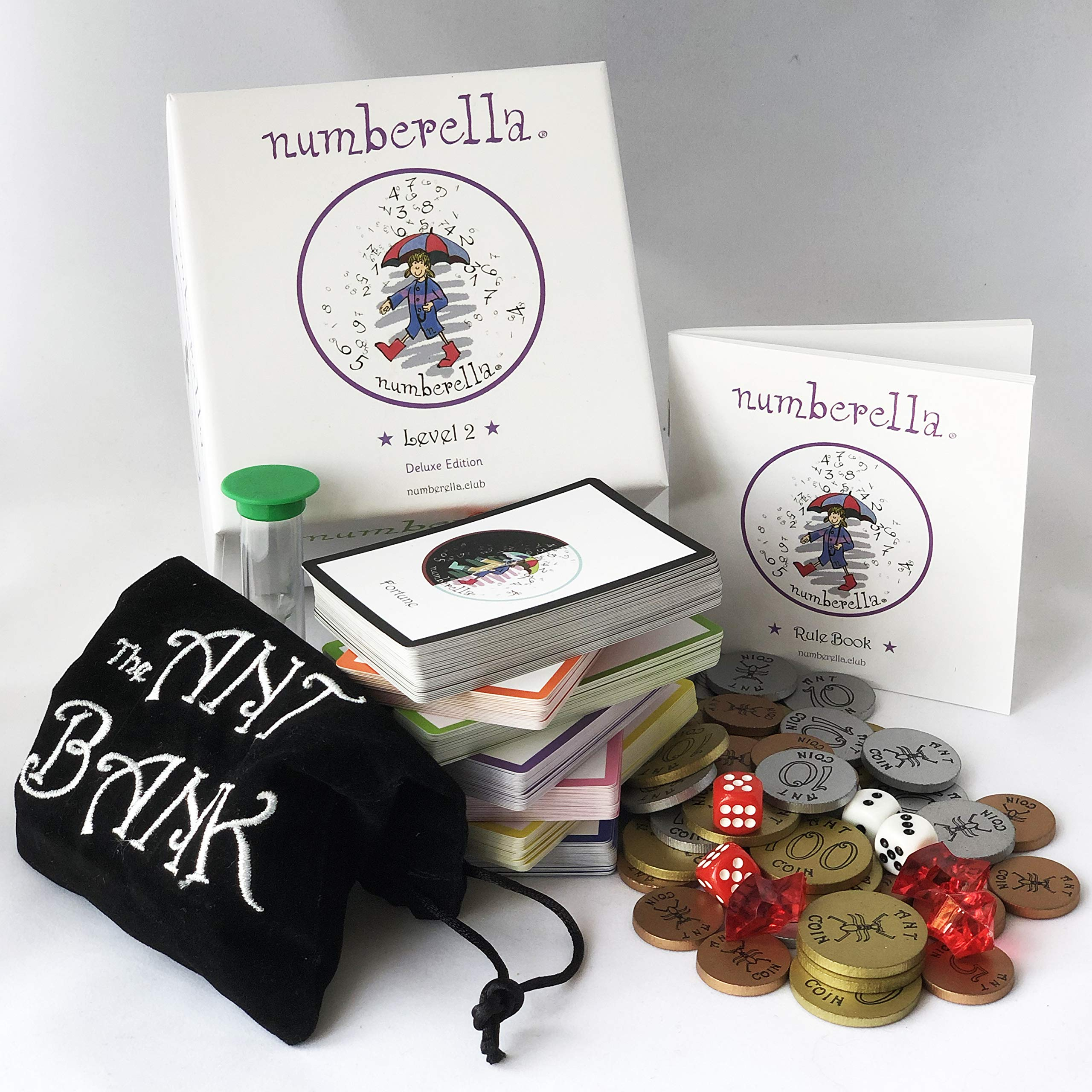 Numberella Deluxe Edition Level 2 - Making Math Fun at 300 Calculations Per Hour. Nominated for ISTE STEM Excellence Award 2019. Loved by Teachers and Students Across The U.S. Grades 5-7.