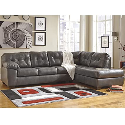 Amazoncom Signature Design By Ashley Alliston Sectional With Right