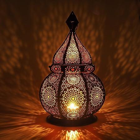 Oriental Lanterne 37 Marocain lanterne cuivre arabe Lanterne Lumière