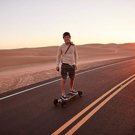 Evolve Skateboards – Bamboo GTX Series Electric Skateboard (26 MPH Top Speed / 31 Mile Range) – Street, All-Terrain, 2in1 Models