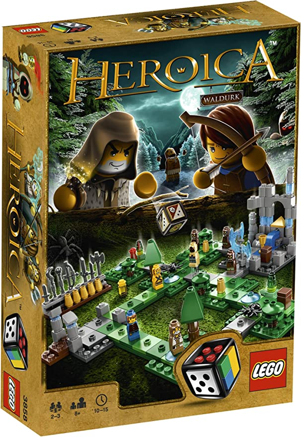 LEGO GAMES 3858 Heroica El Bosque Waldurk: Amazon.es: Juguetes y ...