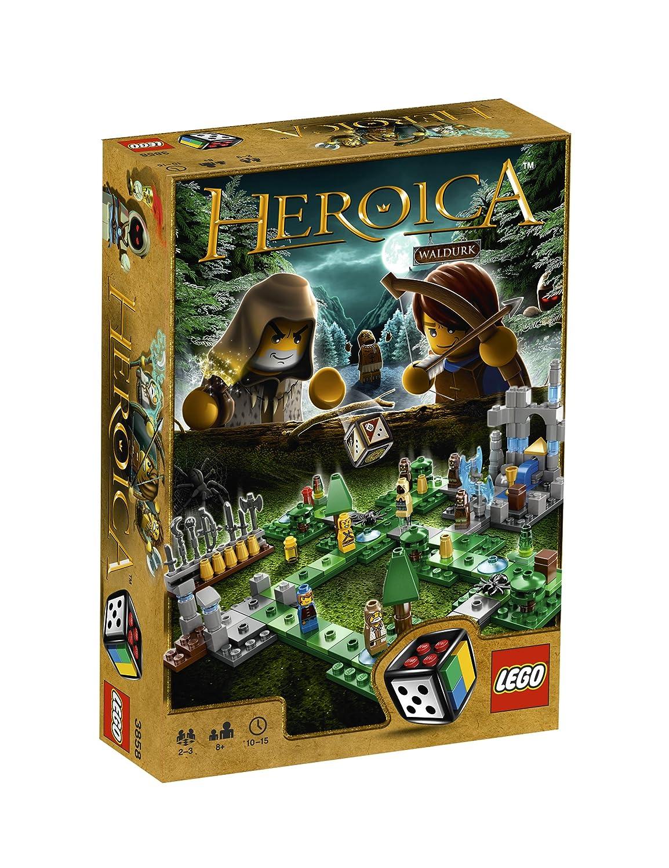 LEGO Spiele 3858 Heroica - die Wälder von Waldurk