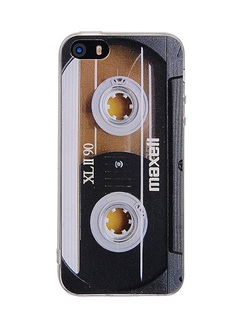 Amazon.com: iPhone se funda, tncy parachoques TPU suave ...
