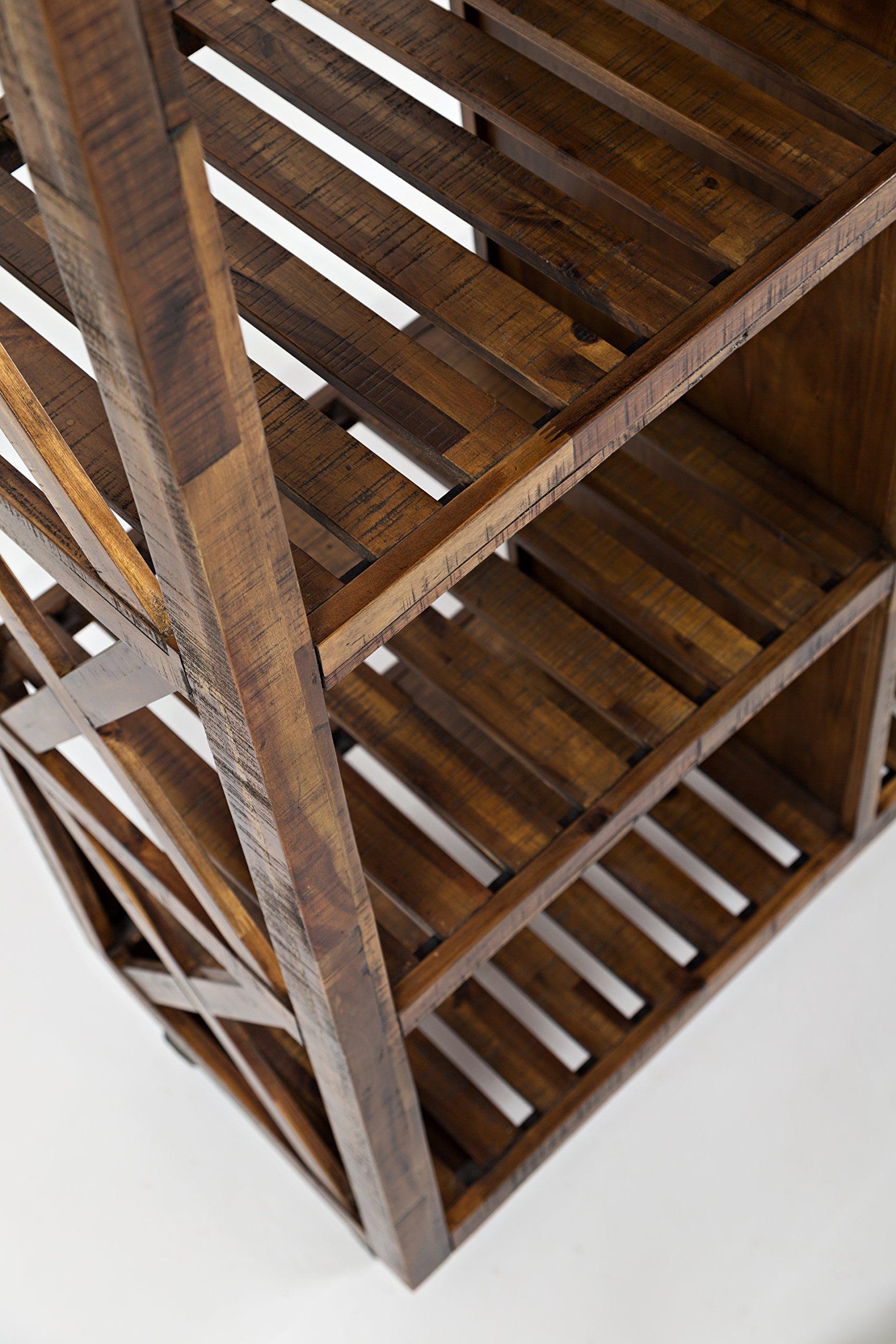 Jofran: 1694-48, Loftworks, 48'' Trolley Pantry, 48''W X 19''D X 78''H, Loftworks Finish, (Set of 1)