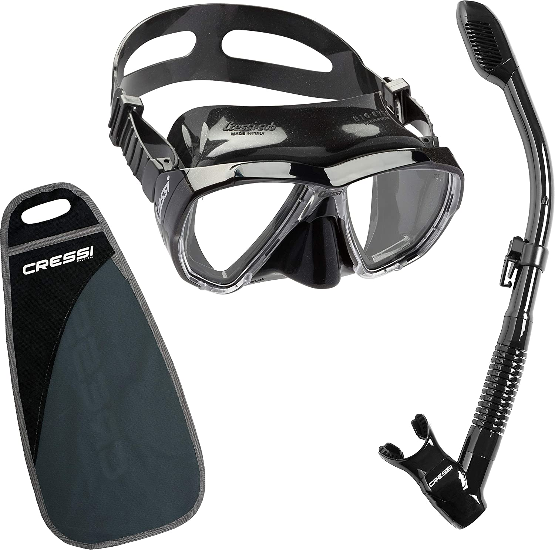 7. Cressi Big Eyes & Supernova Dry Snorkeling Set