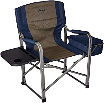 Folding Directors Chair With Side Table.Kamp Rite Director S Chair With Side Table Cooler