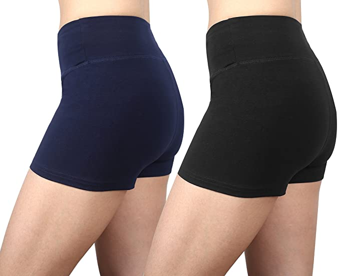 Amazon.com: Munvot Womens Active Yoga Short Exercise ...
