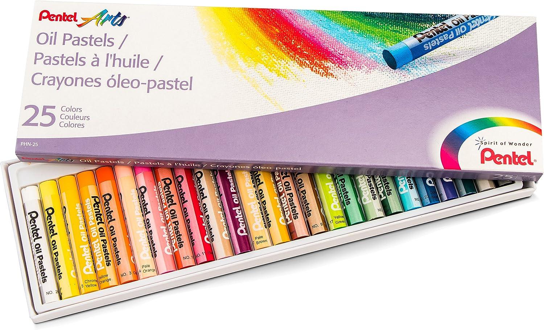 Multi-Colour Pentel Arts Oil Pastels