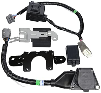 91JV15jVGiL._SX355_ amazon com genuine honda 08l91 sza 100a trailer hitch harness honda ridgeline oem trailer wiring harness at creativeand.co