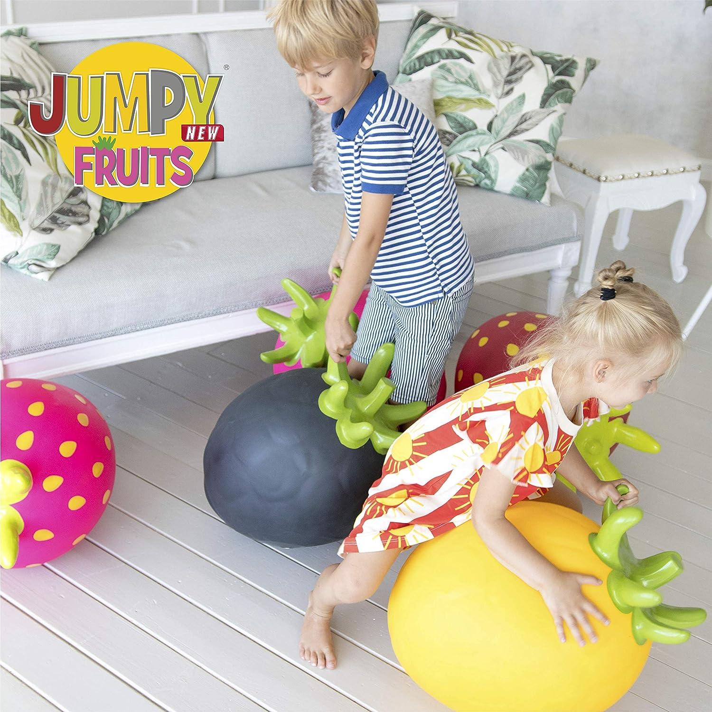 Ballon Sauteur Gerardo`S en Forme de Chicout/é Jaune Ballon Sauteur Gonflable pour Enfants /âg/és de 24 Mois et Plus. Ballon Sauteur pour Les Tout-Petits