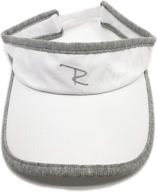 White Adjustable Visor UPF 50+ Outdoor HAT Sun Protection Visor Golf Lightweight Tennis Sports