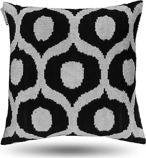 throw pillow cover home decor Handmade in USA Pillow Cover throw pillow decorative pillow cover green pillow cover Ikat pillow cover