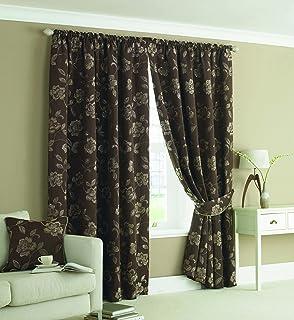 Rectella 44 x 54-Inch Canterbury Curtains, Lavender: Amazon.co.uk ...