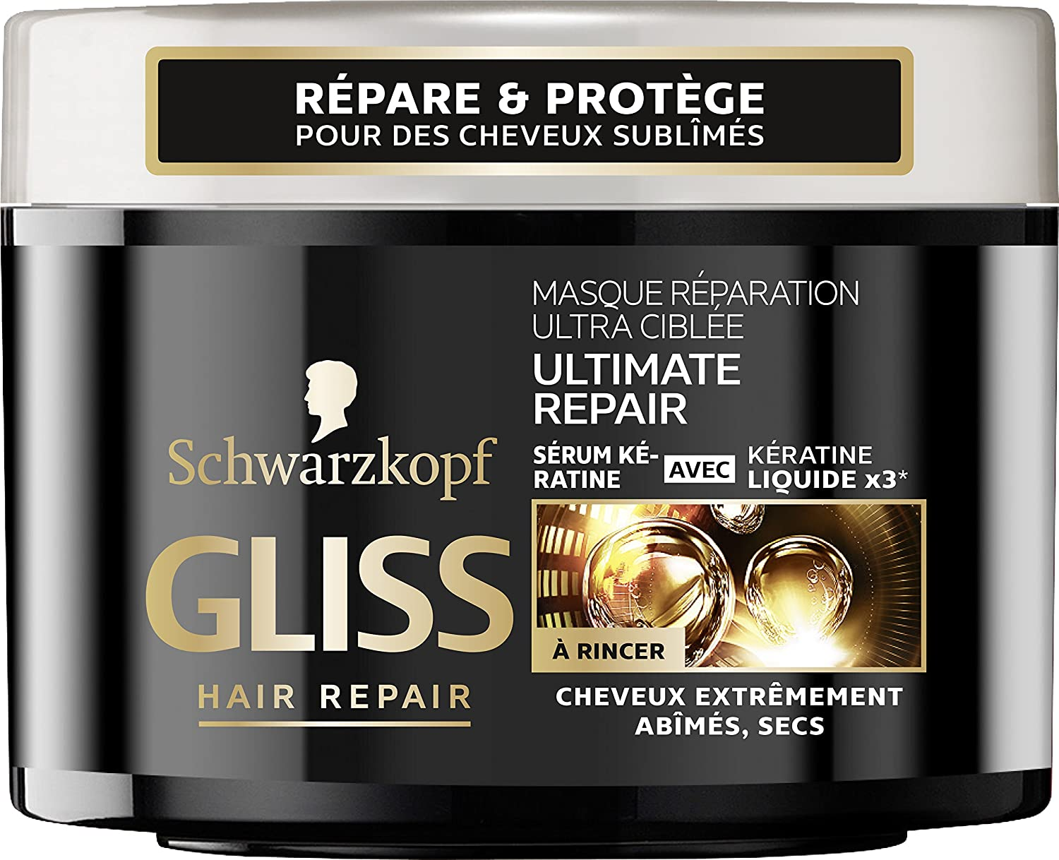 Gliss Ultimate Repair mascarilla reparadora 200 ml